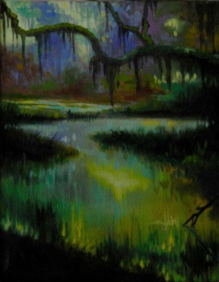 marsh-sunrise